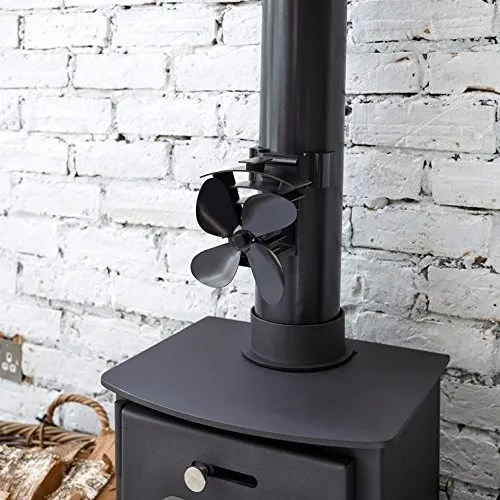 Where this model is different to nearly all stove fans is that because of the design, its perfect for stoves with a cool top, sloping, irregular surfaces, or angled tops or simply where you don't have sufficient space above your stove.