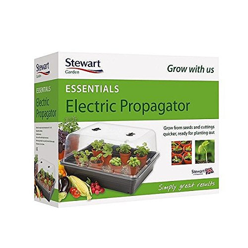 Stewart Essentials Electric Propagator, 52 cm - Black