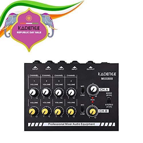 Kadence MX800 Ultra Low Noise 8-Channel Line Mixer