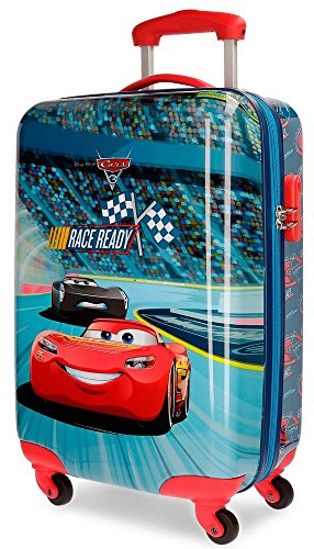 Disney Race Valigia per bambini, 55 cm, 26 liters, Multicolore (Multicolor)