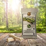 Gesunde Hundesnacks | Zahnpflege-Snack fleischlos | Tiera Vital Basmati Snack L mit Biotin und Rapsöl