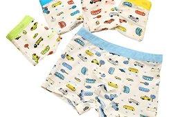 *De feuilles Chic-Chic Boxer Slip Lot DE 5 Garçon Bébé Enfant Culotte Pantalon sous-Vêtement en Coton Motif Mignon Voiture Prix