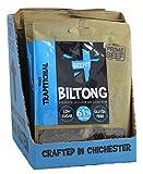 Beefit Biltong - Beef Jerky - TRADITIONELLE (10x35g). Gluten & ZUCKER Frei, hoher Proteingehalt, PALEO