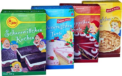Geha Mühlen Märchenmischungen (Schneewittchen, Goldtröpfen, Dornröschen, Rotkäppchen)