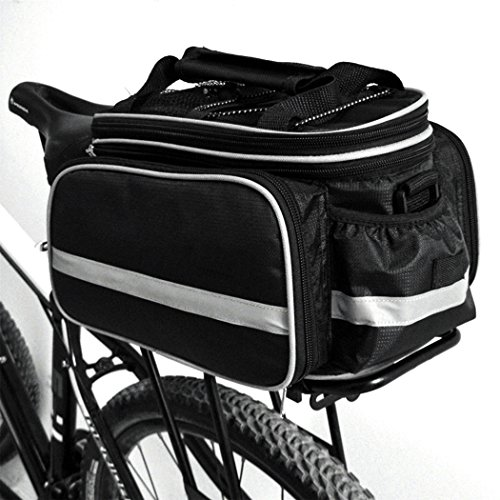 fozela fahrradtasche fahrrad satteltasche gep cktasche gep cktr ger tasche rucksack. Black Bedroom Furniture Sets. Home Design Ideas