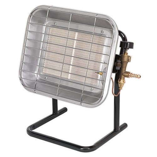 The Sealey LP14 Propane Gas Heater is a simple heater which is perfect for heating garage or even small workshops.