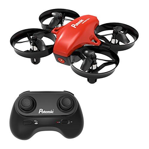 Potensic Mini Drone Drone con Telecomando Quadricottero Funzioni Sospensione Altitudine Un Pulsante...