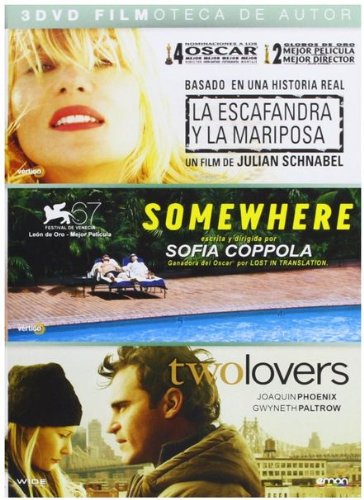 Pack: Somewhere + Two Lovers + La Escafandra Y La Mariposa [DVD]