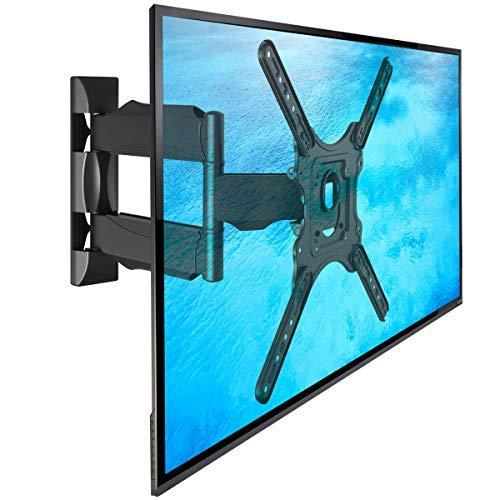 NB P4 - Supporto TV da parete, girevole di alta qualità per schermi TV LCD LED e PLASMA 81-140 cm/...