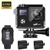 YDI 4K G80 Caméra Sport 30M Étanche Caméscope d'Action WiFi 16MP Ultra...