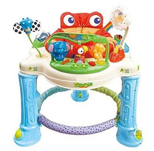 Baby Bucket Sapo Jump Musical Baby Walker (Multicolour)