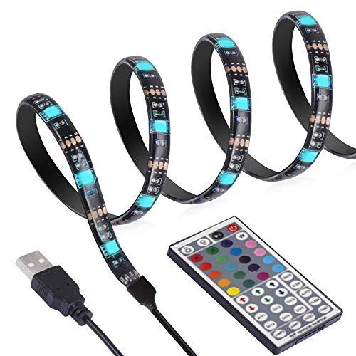 ANSCHE 300CM TV LED posteriore di illuminazione Kit, Telecomando RF 20 colori &modalità RGB 5050...
