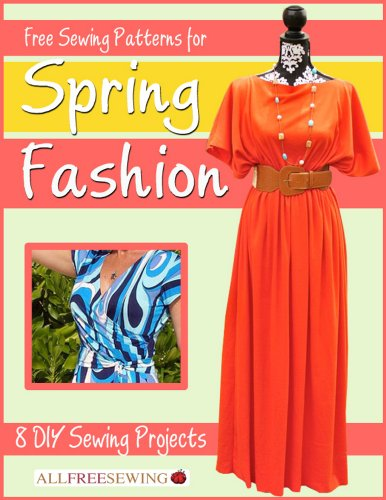 Spring Fashion Sewing eBook Cover