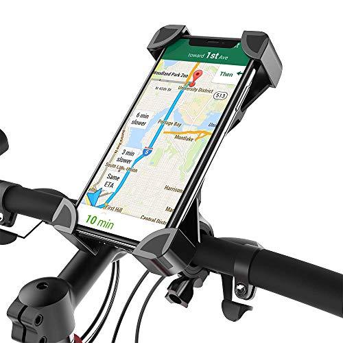 Fantigo Handyhalterung Fahrrad, Handyhalter Fahrrad Motorrad Universal 360°Drehbarem telefonhalter Fahrrad Fahrrad-Lenker Handyhalter für IOS Android GPS Other Devices(4.0-6.5 Zoll)