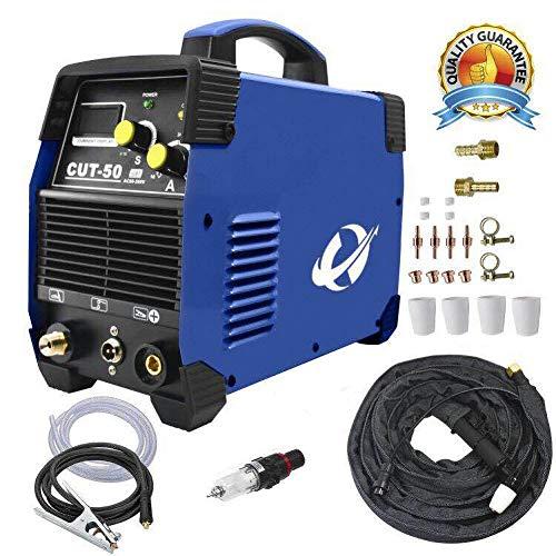 WELDINGER Plasmaschneider CUT50 Plasmaschneidgerät 50A bis 14mm Neue Platine für Kondensator 3 (Blue)