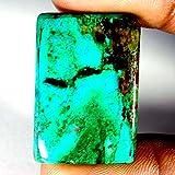 43.85CTS 100% naturale meraviglioso verde Crisocolla Octogon cabochon pietre preziose