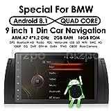 Android 8.1 Car Multimedia GPS Stereo Single Din 9 inch In Dash Headunit HD Touchscreen Car Video Player GPS Navi Steering Wheel Control Bluetooth SD USB Radio