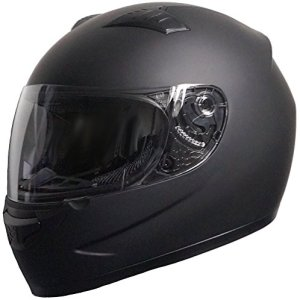RALLOX Helmets Integralhelm Motorradhelm Rallox 805 schwarz matt Motorrad Roller Sturz Helm S M L XL 6
