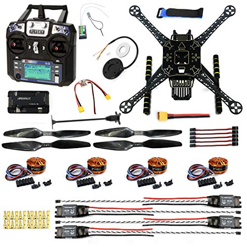 CS PRIORITY DIY GPS Drone Racer APM 2.8 Flight Controller S600 4-Axis Unassembled Quadcopter Kit...