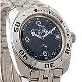 Vostok Amphibian 710634 Genuine Russian Military Divers Watch 2416B/2415 200m Auto Self-Winding Wrist Watch