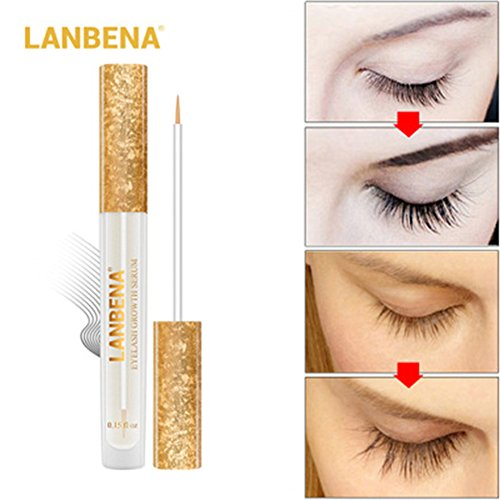 Leoie Eyelash and Eyebrow Enhancer Essence or Growth Serum for Longer Thicker
