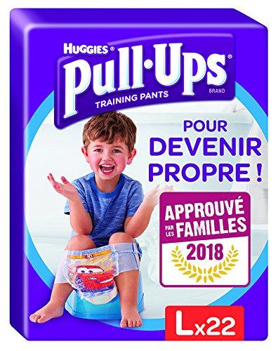 Huggies Pull Ups Pannolino Mutandina di Apprendimento, Taglia 6 (16-23 Kg),  22 Pezzi