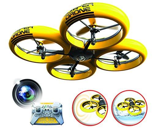 SilverLit Bumper Drone Incassable avec caméra HD - Couleur Jaune 22