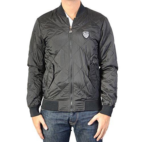 EA7 Emporio Armani Down jacket 6XPB12 1200 Black   Virtual Shop It e4d0a9ad01e
