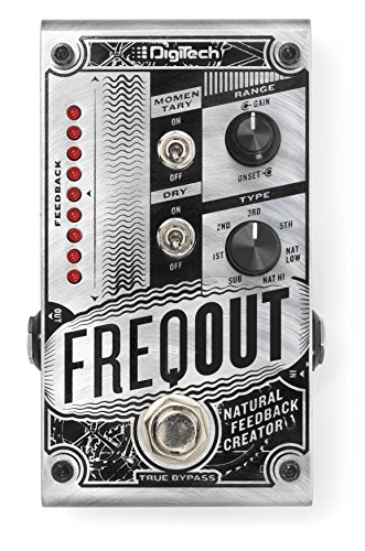 DigiTech DIG0182 FreqOut Natural Feedback Creator Guitar Effects Pedal