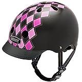 Nutcase Street Helmet - Casco da bici per adulti, Multicolore (Preppy Pink), Small (52 - 56 cm)