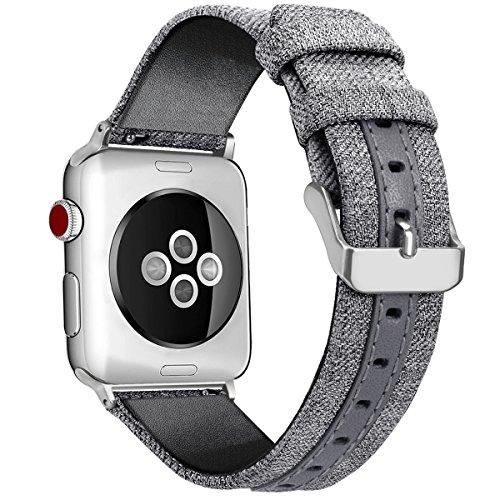 la sostituzione in pelle cinturino 38mm per orologi Apple Watch cinturini 38mm in nylon per la serie...