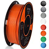 Filament PLA 1.75mm, Eryone PLA Filament 1.75mm, Imprimante 3D Filament PLA Pour Imprimante 3D, 1kg 1 Spool,Orange