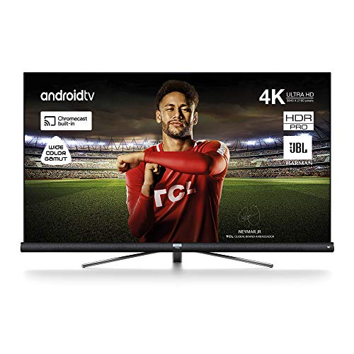 TCL 65DC766 televisore 65 pollici (Smart TV, 4K UHD, HDR, Android TV, Wide Color Gamut, JBL Sound)...
