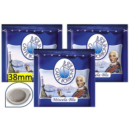 300 Cialde Filtro Carta 38Mm Caffe' Borbone Miscela Blu