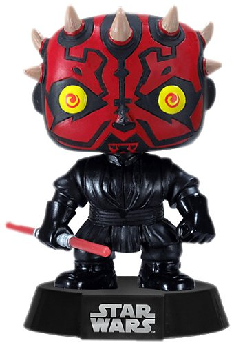 Funko PDF00003872 - Figura con cabeza móvil Darth Maul, Star Wars (PDF00003872) - Figura Head Darth Maul (10 cm)