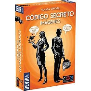 Devir - Código Secreto con imágenes, juego de mesa (BGCOSEIM)