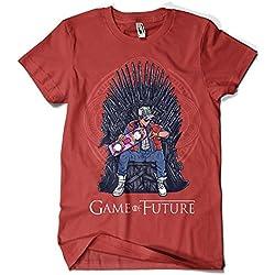 1501-Camiseta Game Of Thrones - Game Of Future (Granate, M)