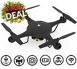 Drone SPECTRE con videocamera HD - App Live View - Mini RC quadricottero con mantenimento di altitudine - Wi-Fi e FPV