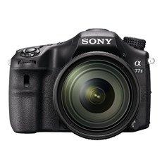 "Sony Alpha 77 II - Cámara réflex digital de 24.3 Mp (Pantalla de 3"", estabilizador, vídeo Full HD, WiFi), negro - kit cuerpo con objetivo 16-50 mm"