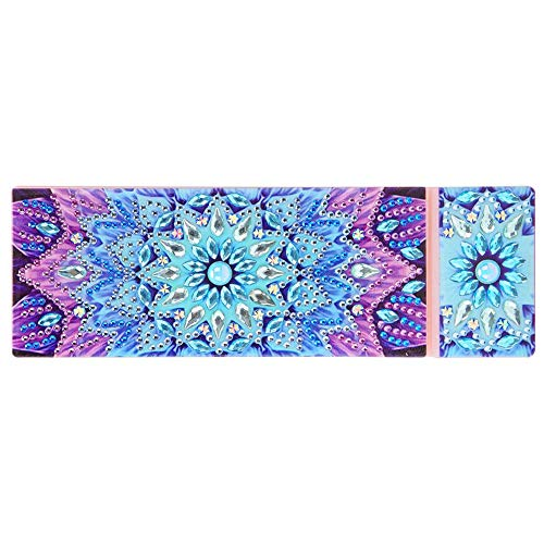 YanHeMingKeJi - Astuccio per matite fai da te, con motivo mandala, per pittura a mosaico, 2 griglie...