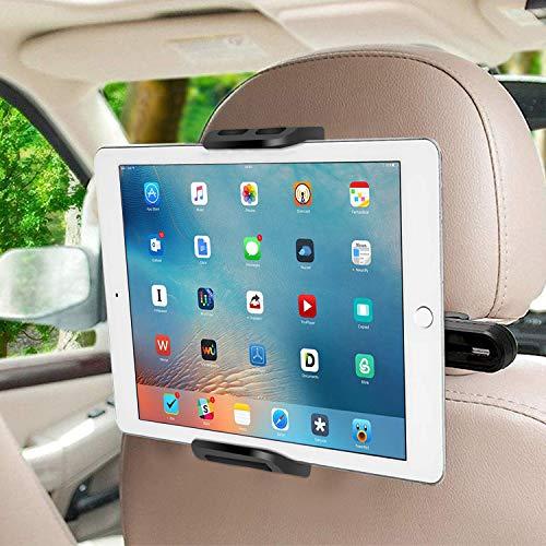 SUCESO Supporto Tablet Auto Supporto Poggiatesta per Auto Supporto Smartphone per Auto Rotazione a...