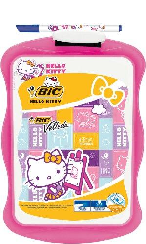 BIC - Lavagna'Velleda', 20 x 31 cm, confezione singola, motivo: Hello Kitty, colore: Rosa