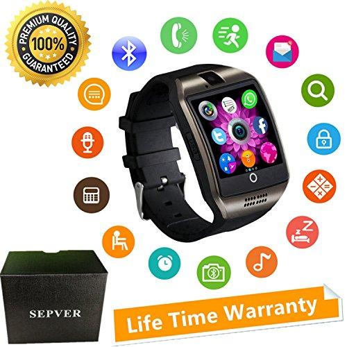 Smartwatch Bluetooth Smart Watch Phone Orologio Intelligente con SIM Card Slot Fotocamera Fitness...