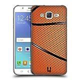 Head Case Designs Basket Palle Da Collezione Cover Retro Rigida per Samsung Galaxy J5 / J500