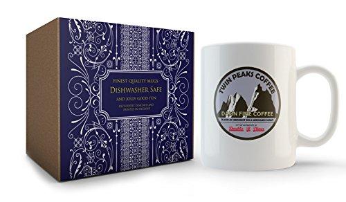 Taza de Damn Fine Coffee de la serie Twin Peaks