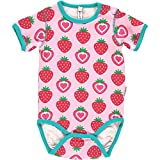 Maxomorra Baby Kurzarm Body STRAWBERRY 80