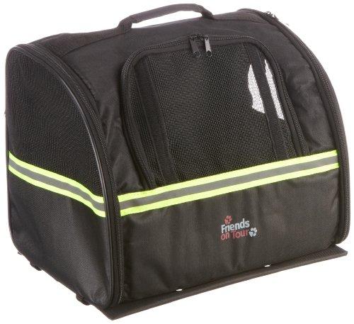 Trixie 13112 Biker-Bag, 35 × 28 × 29 cm, schwarz