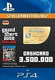 Grand Theft Auto Online | GTA V Whale Shark Cash Card | 3,500,000 GTA-Dollars | PS4 Download Code - deutsches Konto