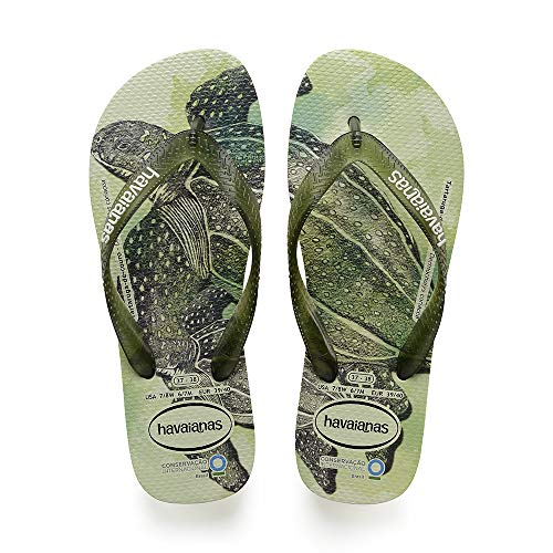 Havaianas Conservation International, Infradito Unisex Adulto, Multicolore (Apple Green 2532), 45/46...