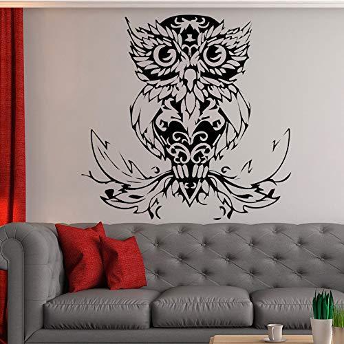 jiushizq Uccelli Adesivi murali Modello Gufo Arte smontabile Stickers murali in Vinile Animale...